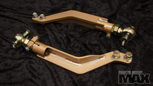 Super Angle Tension Rods for OEM front lower arms on an S14 chassis