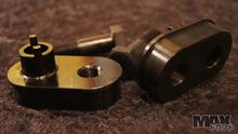 Rack to inner tie rod Forward offset spacers