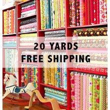 Large Fabric Mystery Bundle - 20 yards - FREE SHIP!