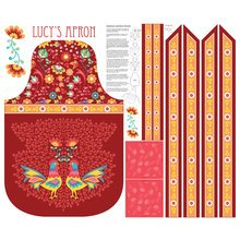 Lucy's Apron Kit - Red