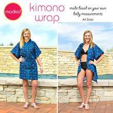 Kimono Wrap PDF Pattern