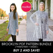 Brooklyn BUNDLE Teen/Misses PDF Pattern