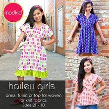 Hailey Girls PDF Pattern