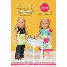 Mini Frida Doll Sewing Pattern