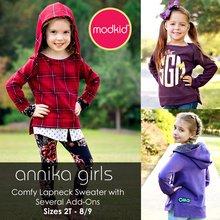 Annika Girls PDF Pattern
