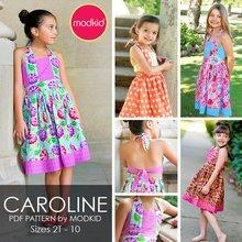 Caroline PDF Pattern