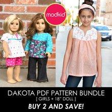 Dakota BUNDLE PDF Pattern