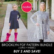 Brooklyn BUNDLE Girls/Misses PDF Pattern