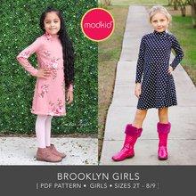 Brooklyn Girls Sizes 2T to 8/9 PDF Pattern