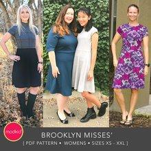 Brooklyn Misses PDF Pattern XS - XXL