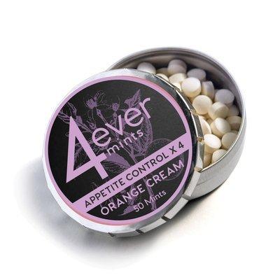 4everMints Appetite Control 4X Orange Cream  50 ct