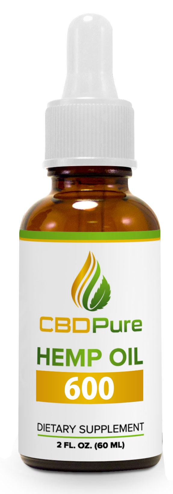 CBD Hemp Oil 600