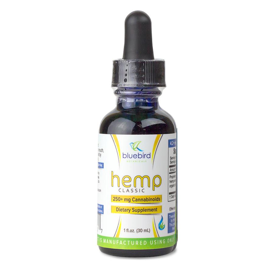 Bluebird Botanicals Classic Hemp Oil