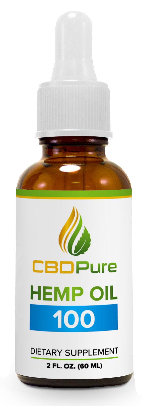 CBD Hemp Oil 100