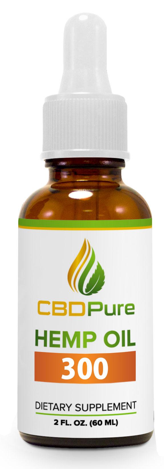 CBD Hemp Oil 300