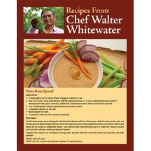 Recipes from Chef Walter Whitewater