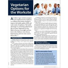 Vegetarian Options for the Worksite Booklet