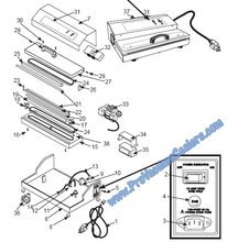 Replacement Parts for Pro Vacuum Sealers