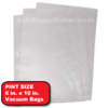 6x10 pint vacuum sealer bags