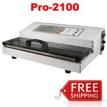 PRO 2100 Vacuum Sealer White Powder Coat