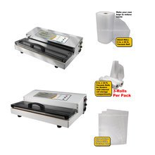 Pro Vacuum Sealers, Bags, Rolls, Parts, and Accessories