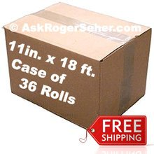 Case Pack of ( 36 ) Rolls of 8 in. x22 ft. Vacuum Sealer Bagging ** FREE Shipping ** ***** In Stock Ready to ship  *****