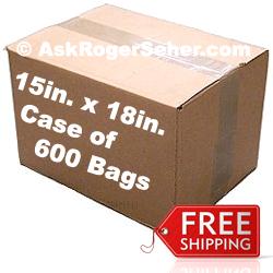 15x18 Vacuum Sealer Bags 600Ct.