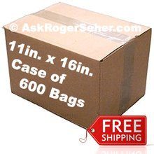 Case Pack of 600 11x16 in. Vacuum Sealer Bags ** FREE Shipping ** **** In Stock ready to ship  ****