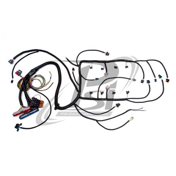 lm7 wiring harness 2002 vortec w 4l60e standalone wiring harness  dbw   4l60e standalone wiring harness