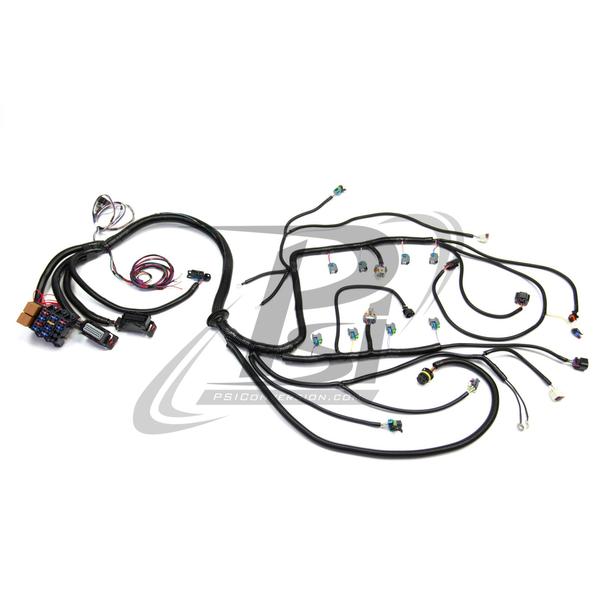 2010 - 2015 L99 (6.2L) Standalone WIRING Harness W/6L80E | Chevrolet L99 Engine Diagram |  | PSI Conversion