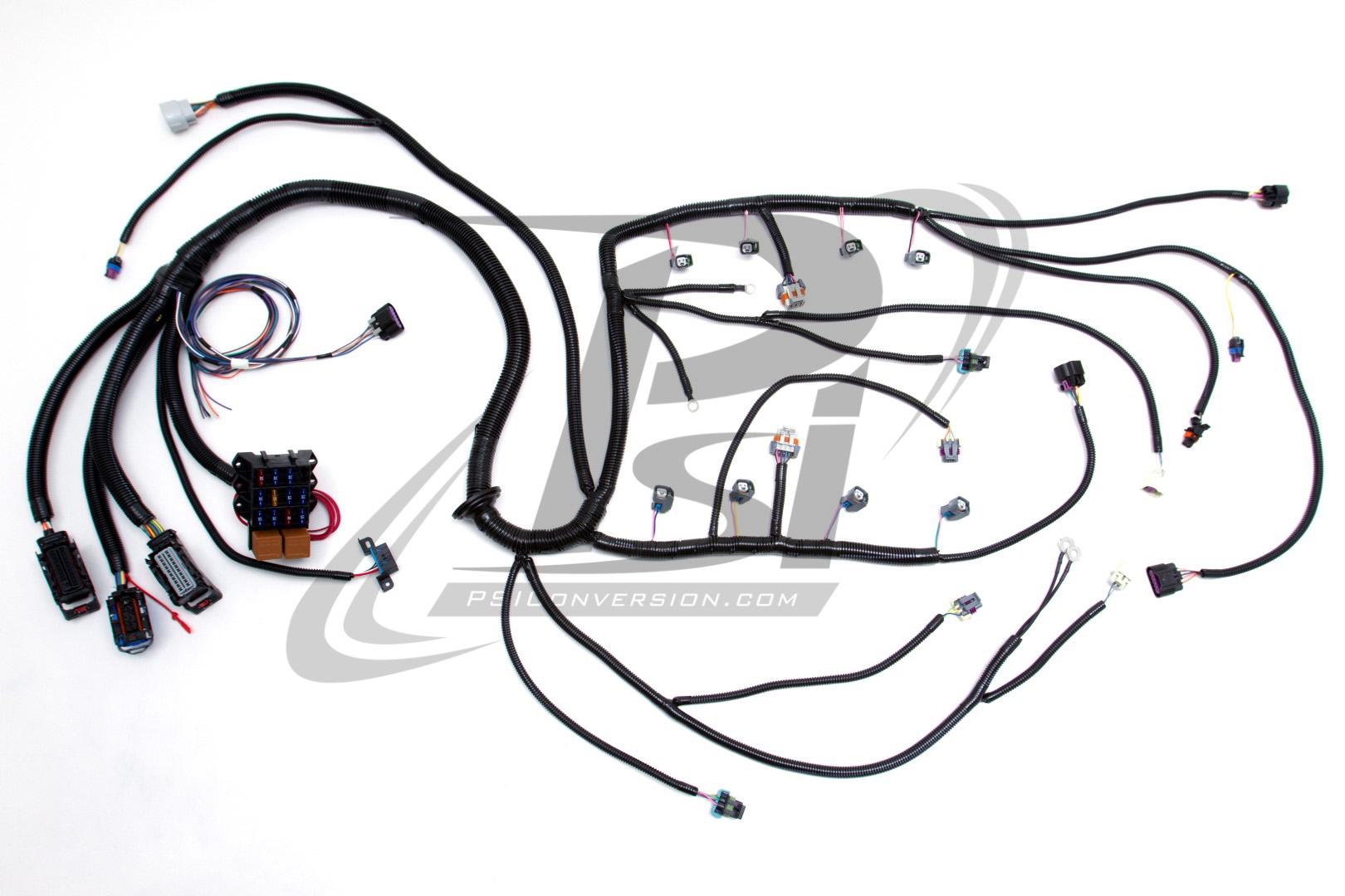 '06 '07 ls2 (6 0l) 58x w 4l60e standalone harness custom engine wiring harness standalone wiring harness gm 6 0 engine #2