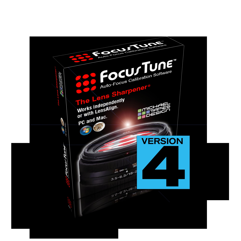 FocusTune Version 4 Autofocus Software Download   - Link: http://download.focustune.com DISCONTINUED