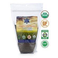 Organic Chia Seeds NON GMO 16oz - 1 lb Raw Organic Seeds