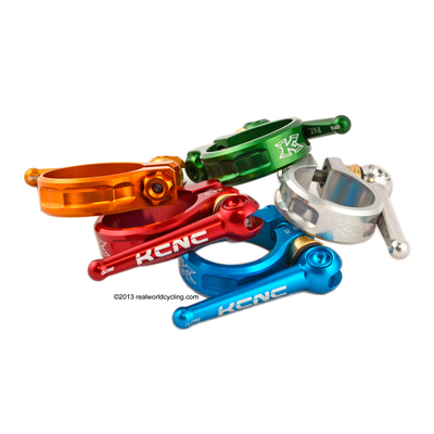 KCNC 31.8mm QUICK RELEASE MTB SEAT POST CLAMP
