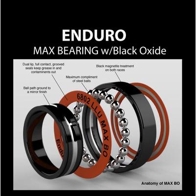6001 MAX BEARING w/Black Oxide