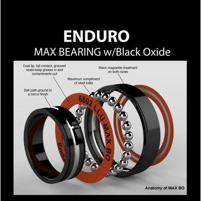 3802 MAX BEARING, Black Oxide