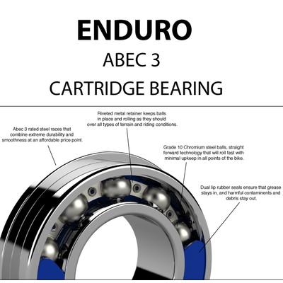 MR 2237 w/ Extended Inner Race ABEC 3 Bearing