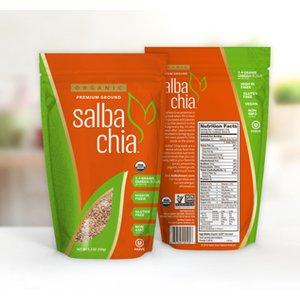 Salba Chia Organic Premium Ground -  5.3oz/container - approx 10 servings
