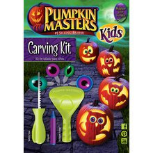 Pumpkin Masters Halloween Kid's Pumpkin Carving Kit