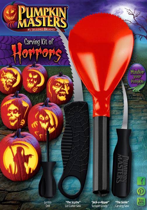 Pumpkin Masters Carving Kit Of Horrors