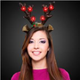 LED Christmas Reindeer Antlers Headbad