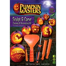 Pumpkin Masters Pumpkin Sculpt and Carve Kits