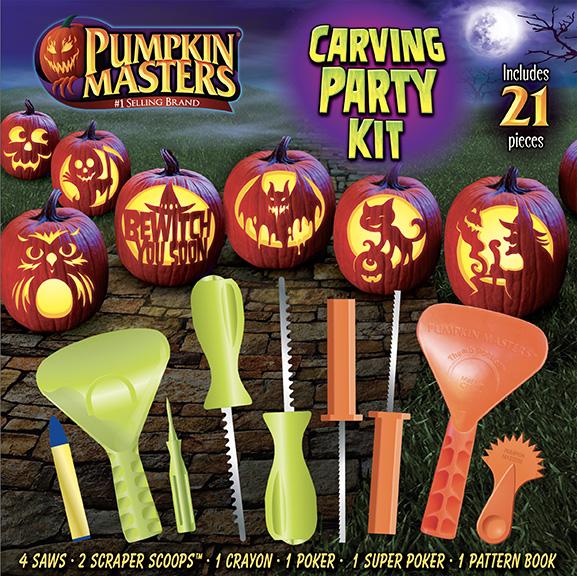 Halloween Pumpkin Carving Party Kit Pumpkin Masters