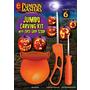 Pumpkin Masters Jumbo Pumpkin Carving Kit w/ Easy Grip Scoop