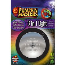 Pumpkin Masters 3 in 1 Pumpkin Light