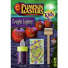 Pumpkin Masters Halloween Kid's Fright Lights Kit