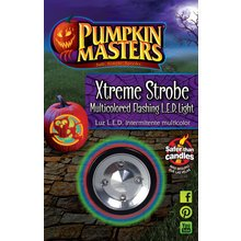Pumpkin Masters Halloween Xtreme LED. Strobe Multicolored