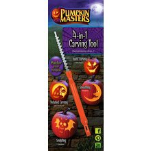 Pumpkin Masters Halloween 4-in-1 Pumpkin Carving Tool