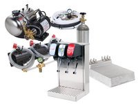 3-Flavor Tower Soda System with Cold Plate (S2200)