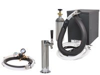 Seltzer Home Soda Draft Arm (Cylinder) System with Compact Remote Chiller (R1000C)